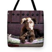 Pup Tote Bag