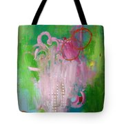 Puppet On A String Tote Bag