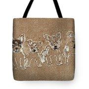 Puppy Brigade Tote Bag