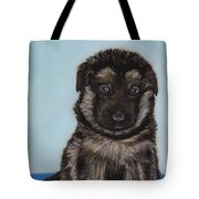 Puppy - German Shepherd Tote Bag