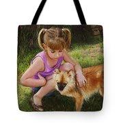 Puppy Love Tote Bag