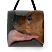 Puppy Loyalty Tote Bag
