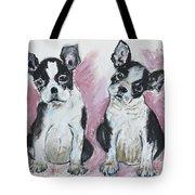 Puppy Puppy Tote Bag