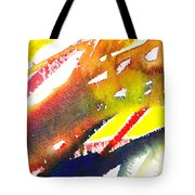Pure Color Inspiration Abstract Painting Linea Forces Tote Bag