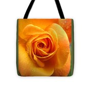 Pure Gold - Roses From The Garden Tote Bag