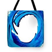 Pure Water 312 - Blue Abstract Art By Sharon Cummings Tote Bag