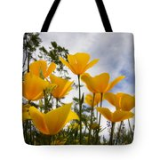 Purely Poppies  Tote Bag