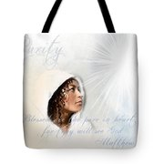 Purity Tote Bag by Jennifer Page