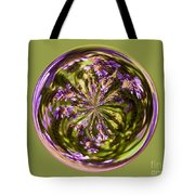 Purpble Wildflower Orb Tote Bag