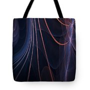 Purple Ablaze Tote Bag