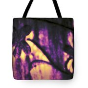 Purple Abstract Tote Bag