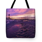 Purple After The Rain Tote Bag