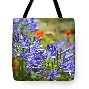 Purple Agapanthas Tote Bag