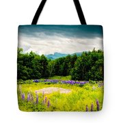 Purple And Mountains And Majesty Tote Bag