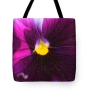 Purple And Pollen Tote Bag
