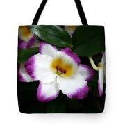 Purple And White Flower At Biltmore Estate Tote Bag