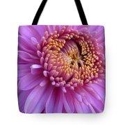 Purple Autumn Mum Tote Bag