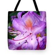Purple Azalea Tote Bag