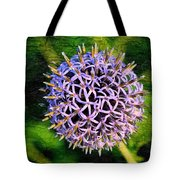 Purple Ball Tote Bag