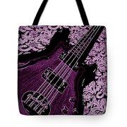 Purple Bass Tote Bag