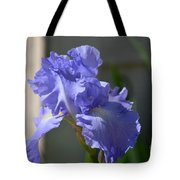 Purple Beauty Iris Tote Bag
