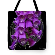 Purple Bells Tote Bag