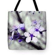 Purple Blossoms Tote Bag