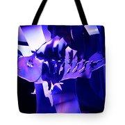Purple Blue Fish...   # Tote Bag