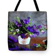 Purple Blues Tote Bag