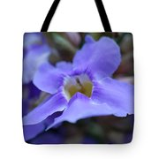 Purple Bokeh Tote Bag