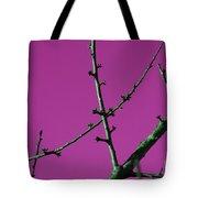 Purple Branches Tote Bag