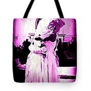 Purple Bride Tote Bag