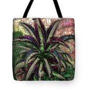 Purple Cactus II Tote Bag