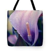 Purple Calla Flower Tote Bag