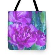 Purple Carnations Tote Bag