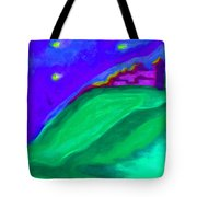 Purple Castle By Jrr Tote Bag