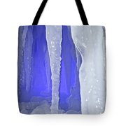 Purple Cave Tote Bag