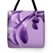 Purple Charm Tote Bag