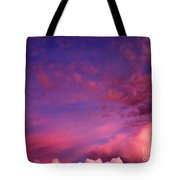 Purple Clouds Majesty Tote Bag