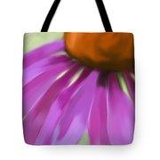 Purple Cone Tote Bag