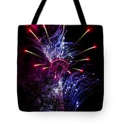 Purple Crown Tote Bag