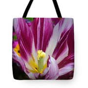Purple Dual Coloured Tulip Tote Bag