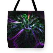 Purple Edges Tote Bag