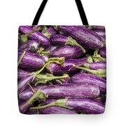 Purple Eggplant Tote Bag
