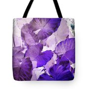 Purple Elephants Tote Bag