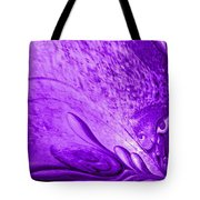 Purple Expectations Tote Bag