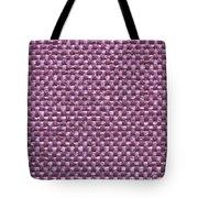 Purple Fabric Tote Bag