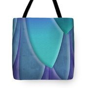 Purple Feathers Tote Bag