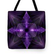 Purple Fingerz Tote Bag
