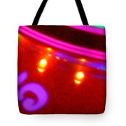 Purple Five Tote Bag